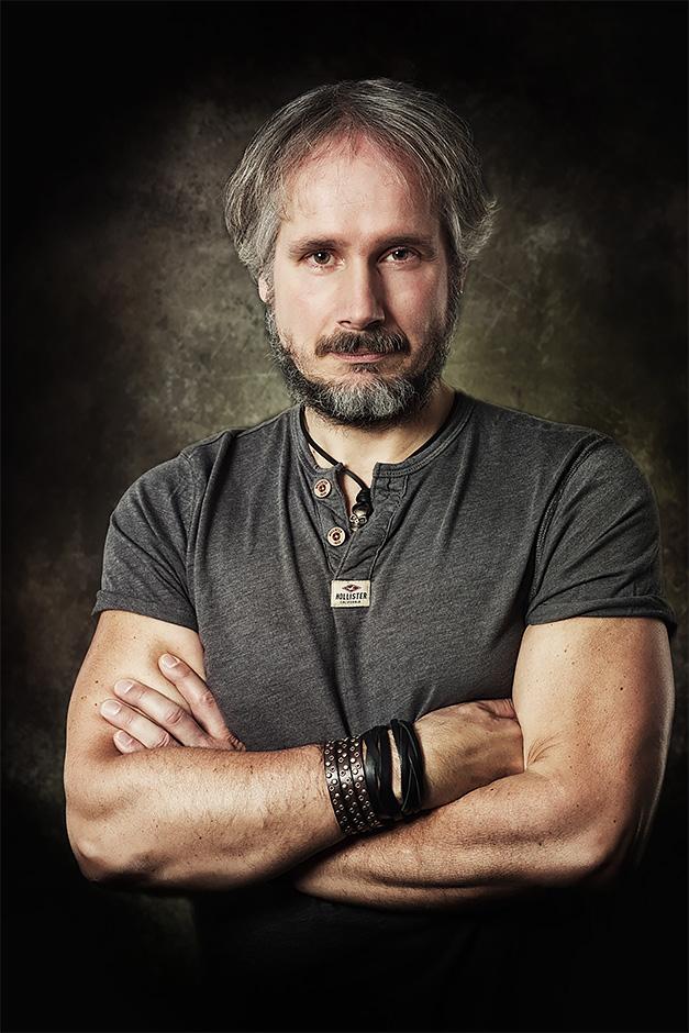 Portrait von Stefan Deissler - Drummer bei Purple Rising