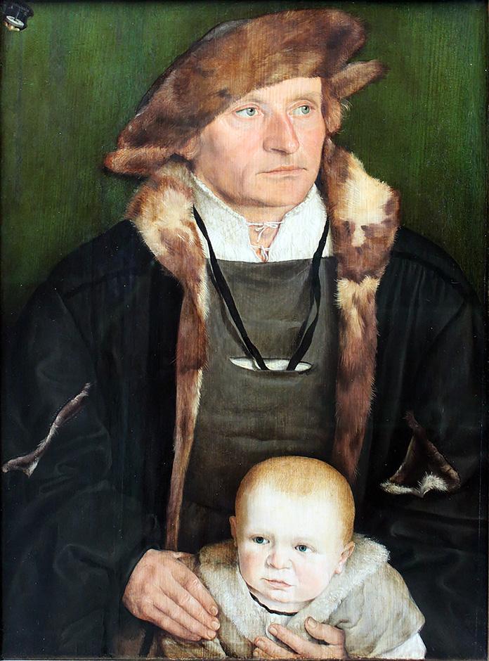 Beham Hans Urmiller mit seinem Sohn Anagoria 1525