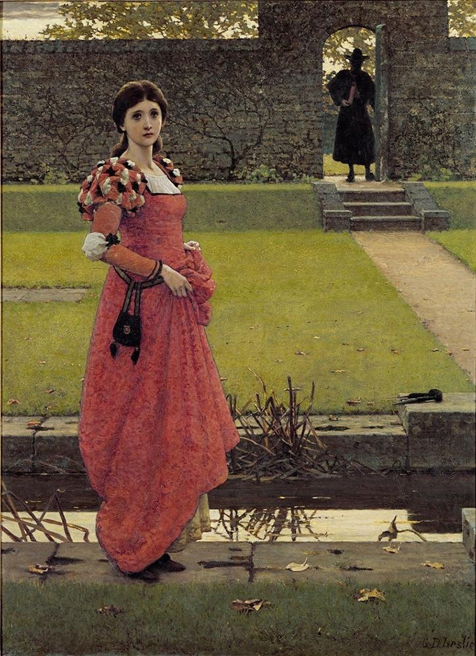 George Dunlop Leslie In the Wizards Garden