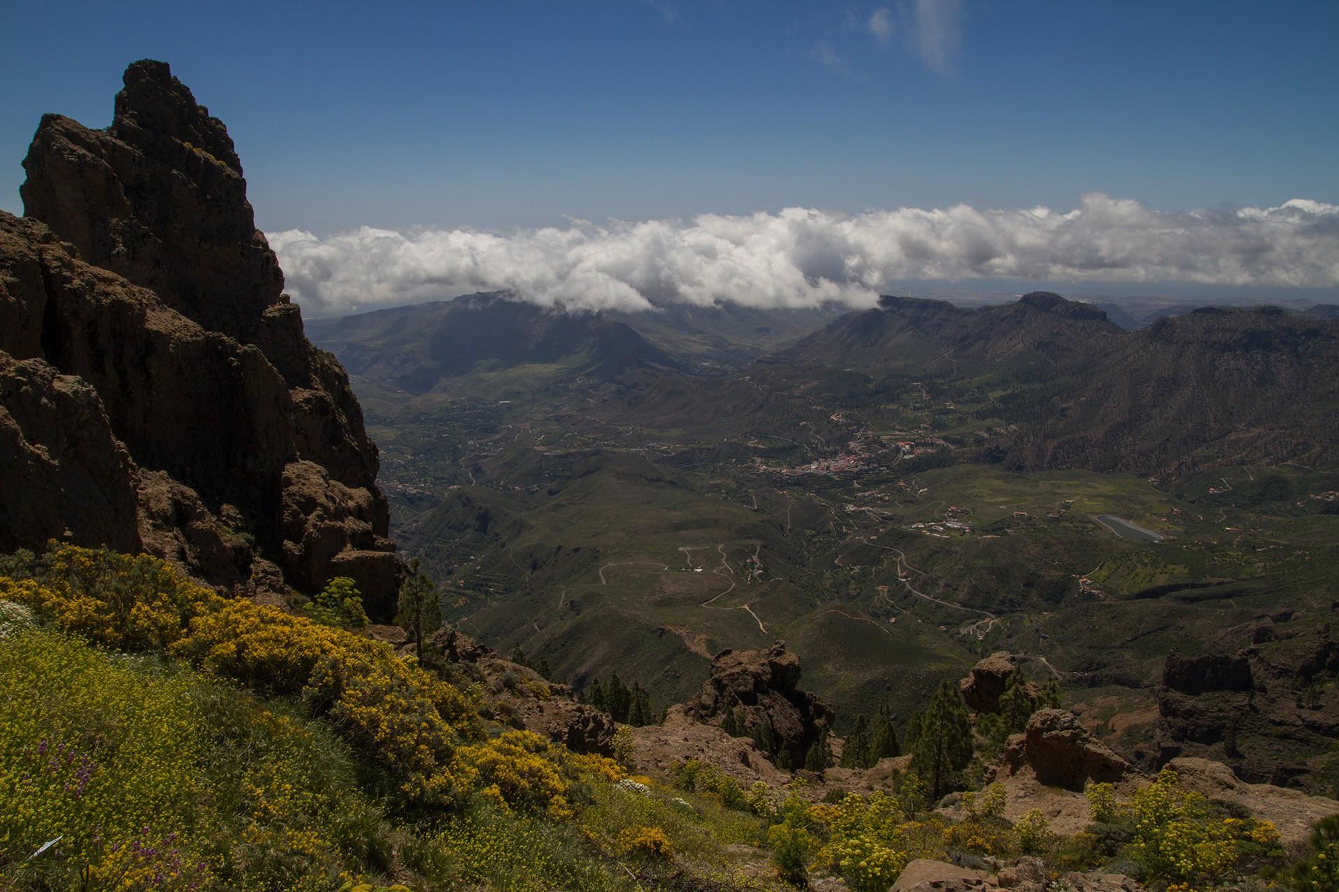 Gran Canaria - Aussicht vom Pico de las Nieves