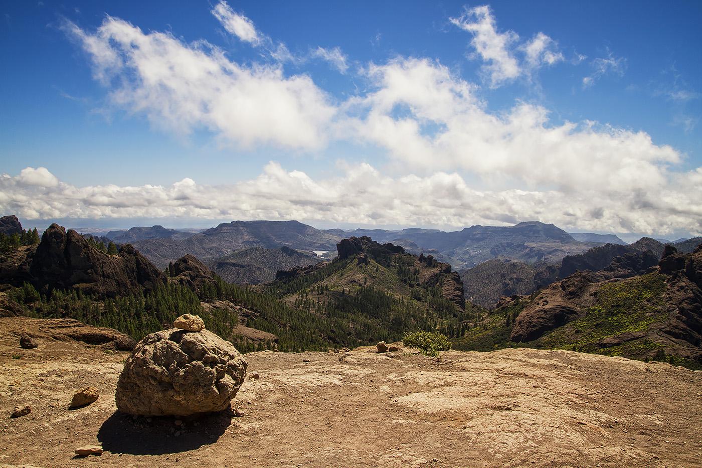 Gran Canaria Roque Nublo Plateau