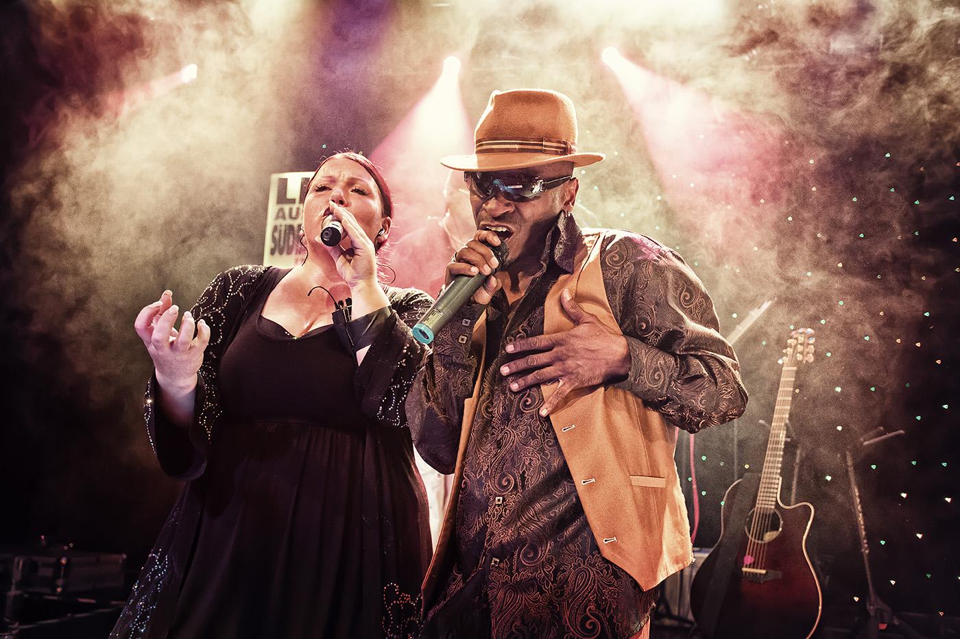 Keith Sanders und Ena Roth The Gypsys