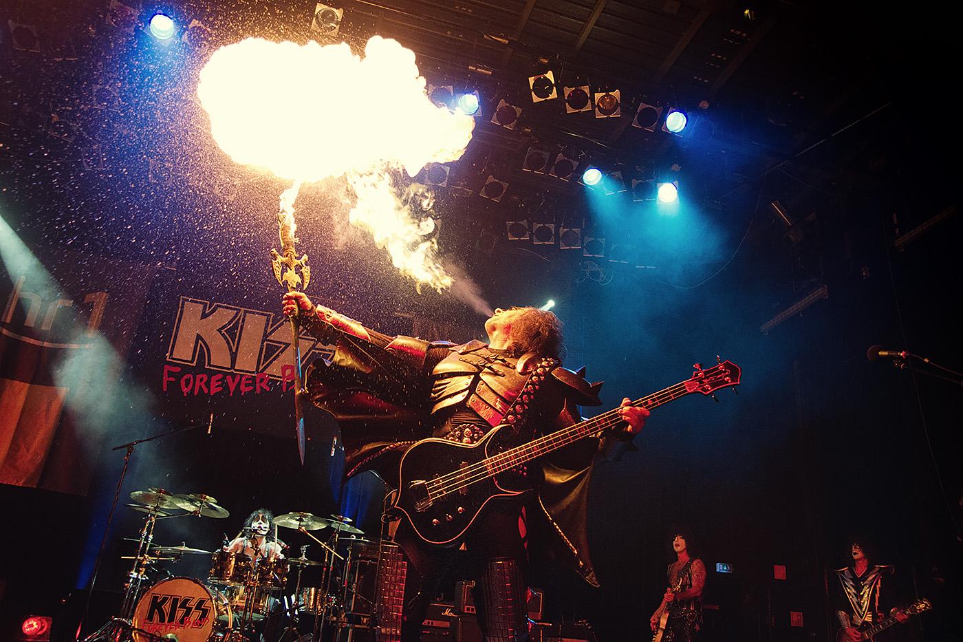 Kiss forever Band Open Doors Festival Zoltan Fuezfa