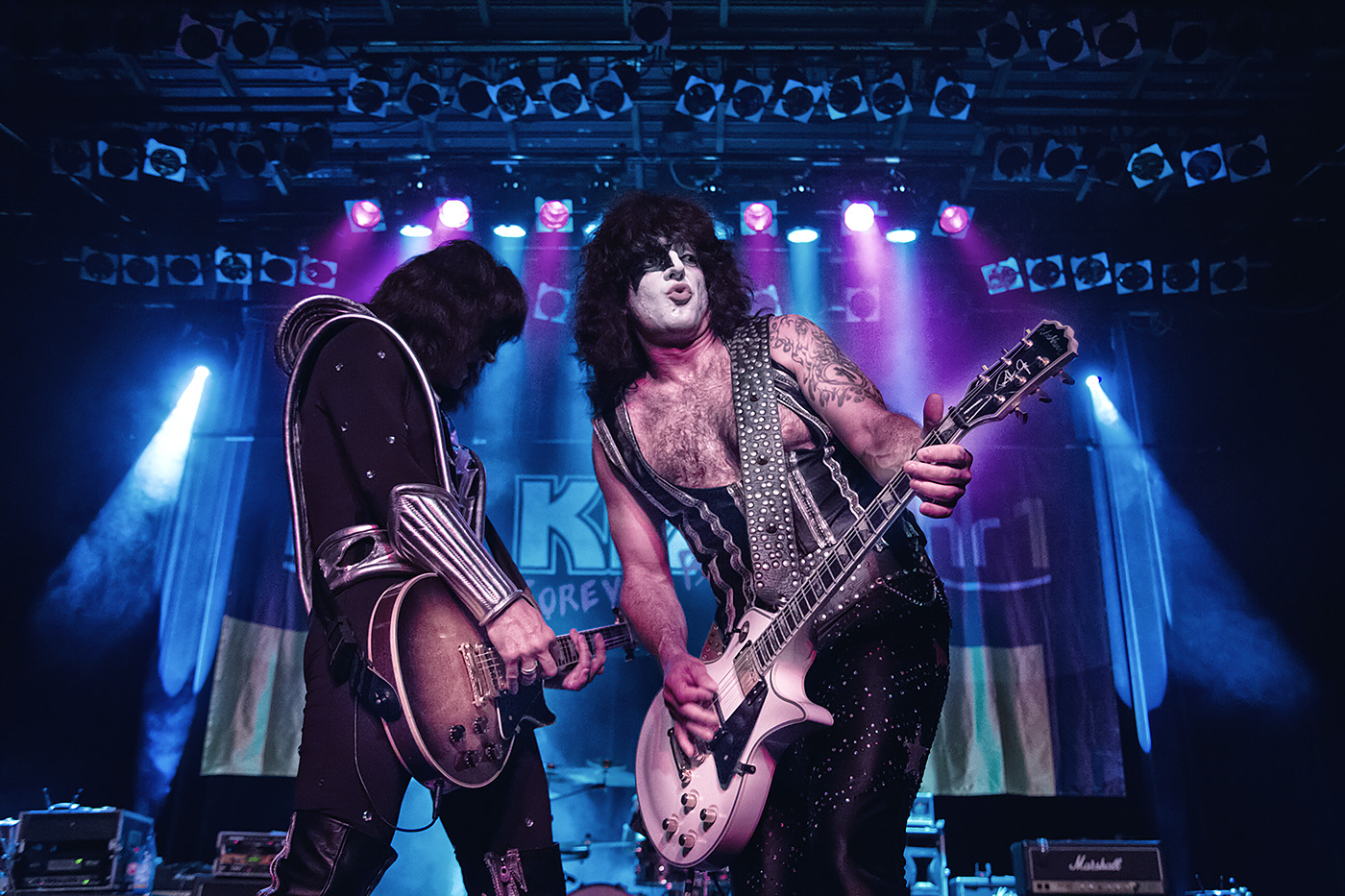Kiss forever Band Open Doors Festival Zoltan Vary und Zoltan Marothy