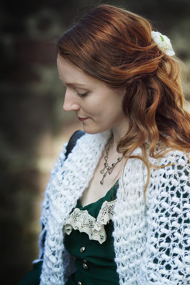 Portrait einer roothaarigen Frau
