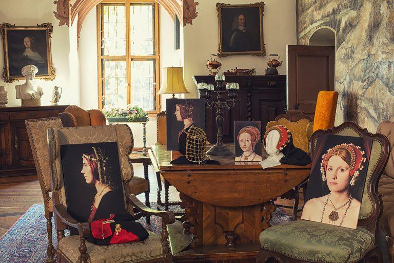 Schloss Buedingen Ausstellungsraum Beatrice - Elizabeth I