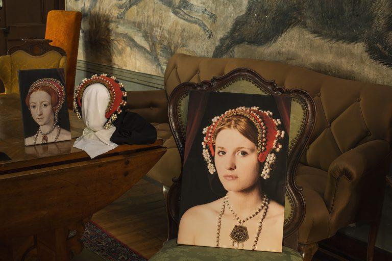 Schloss Buedingen Ausstellungsraum Elizabeth I