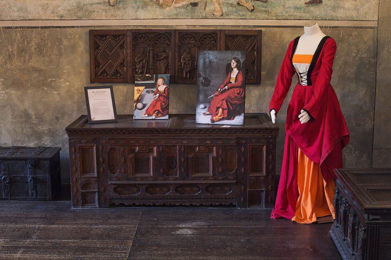 Schloss Buedingen Ausstellungsraum Melancholie