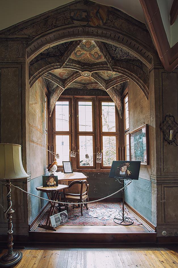 Schloss Buedingen Ausstellungsraum Urmiller
