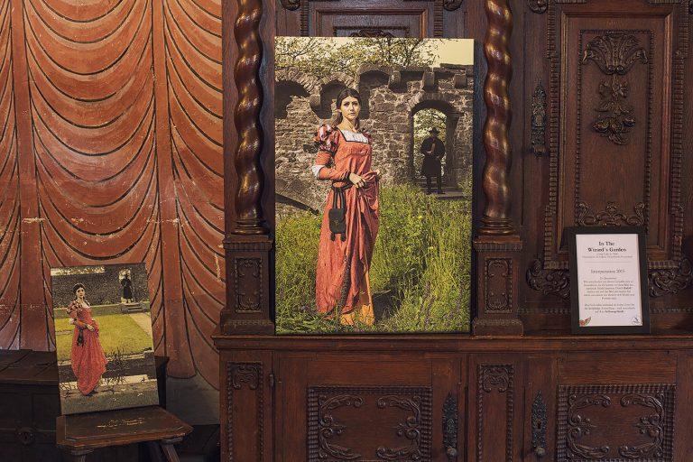 Schloss Buedingen Ausstellungsraum Wizards Garden