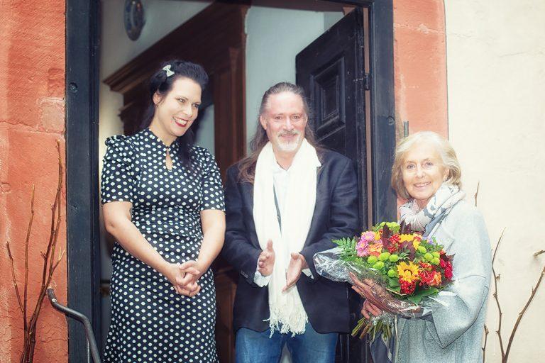 Schloss Buedingen Nicole Friedersdorf, Markus Gath, Leonille Fürstin zu Ysenburg und Büdingen