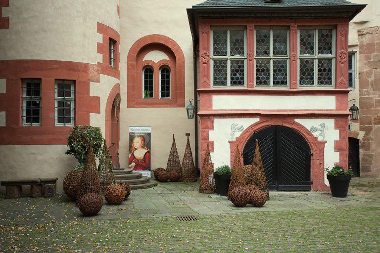 Schloss Buedingen Innenhof