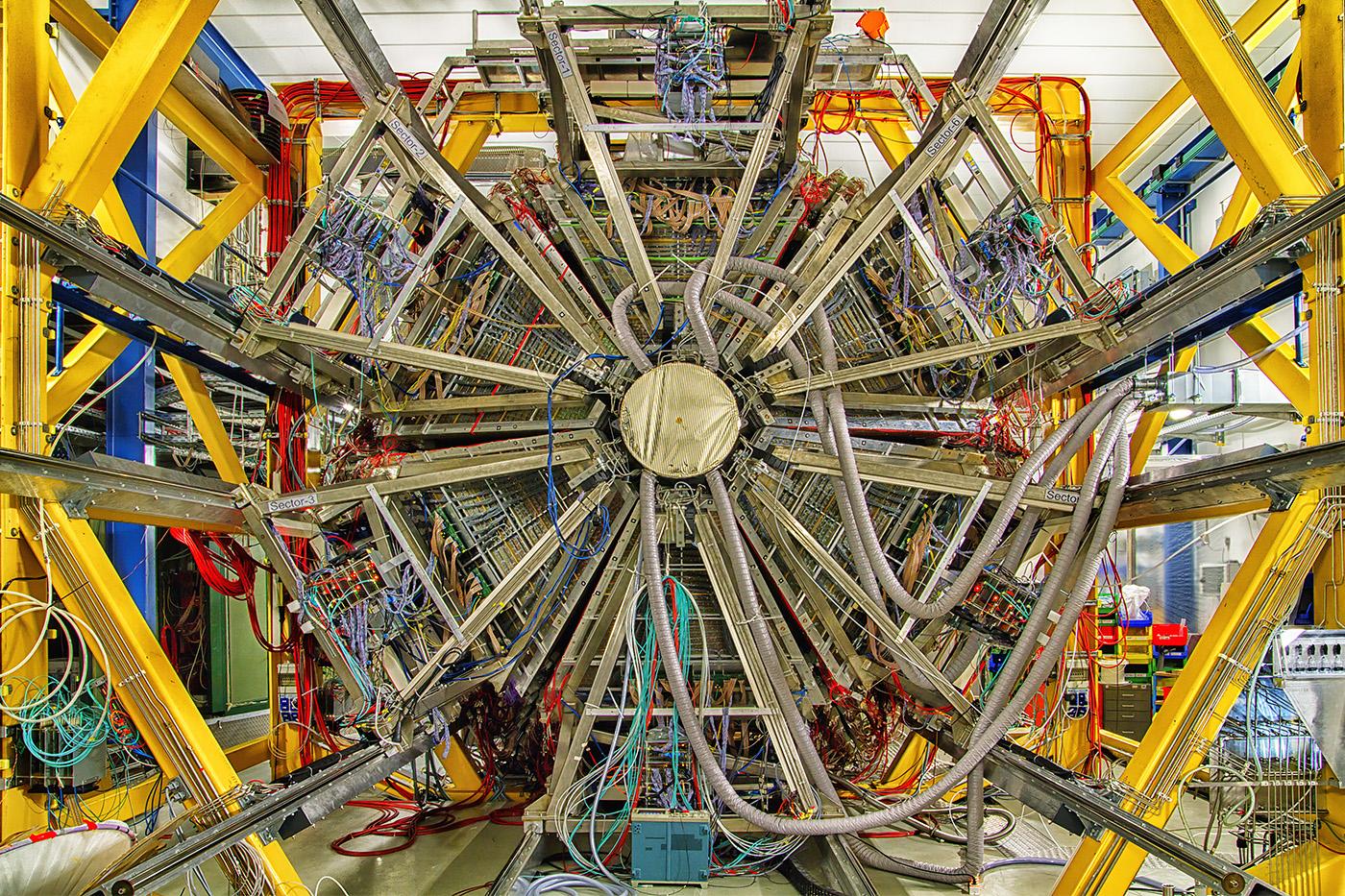GSI Darmstadt HADES Detektor