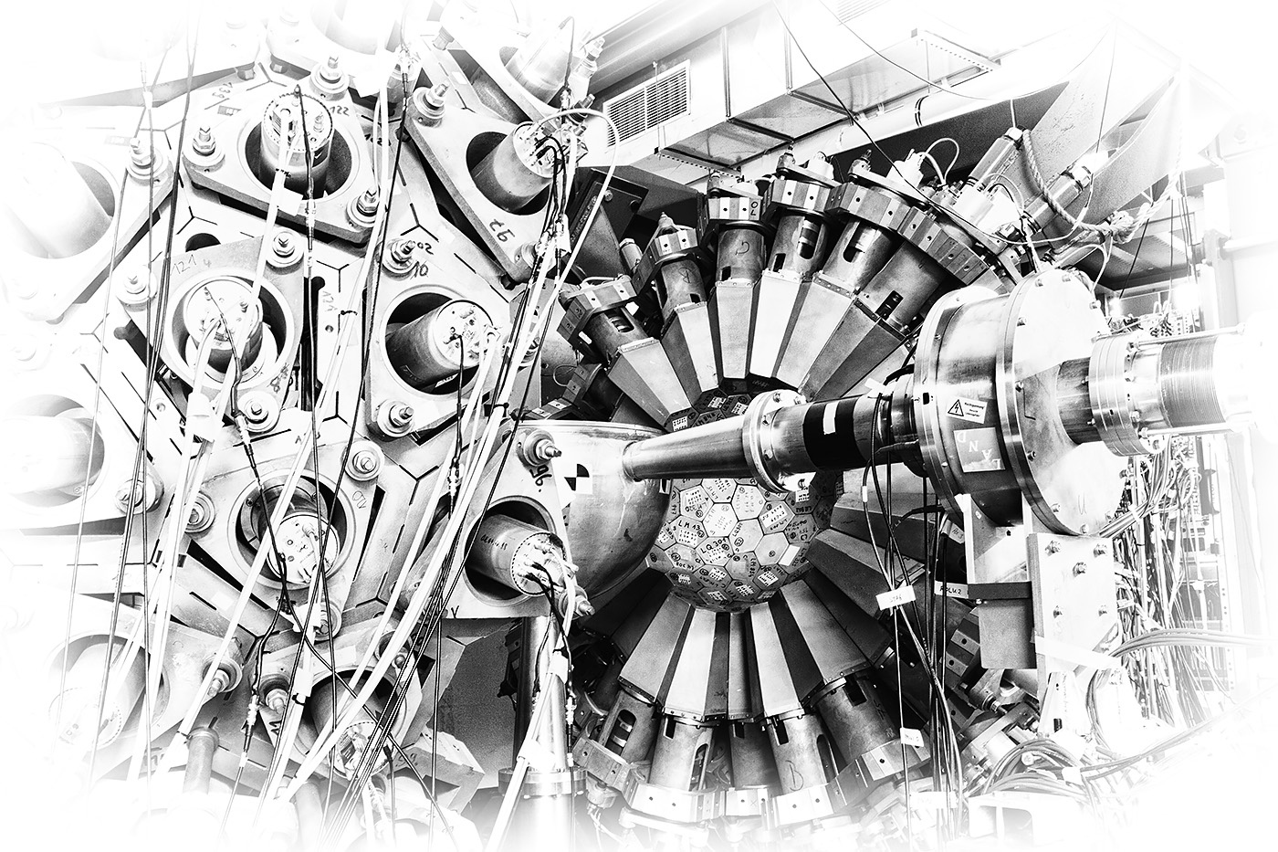 GSI Darmstadt Crystal Ball Detektor