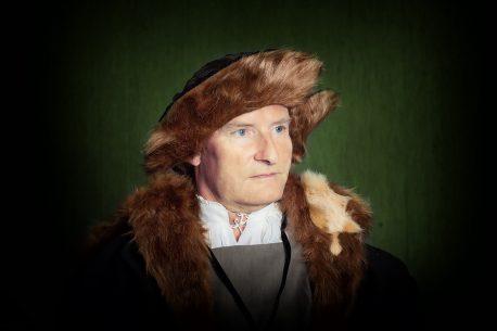 Beham Hans Urmiller mit seinem Sohn Anagoria 1525 Ausschnitt - Nicole Friedersdorf - Darkdirndl - Historic Couture