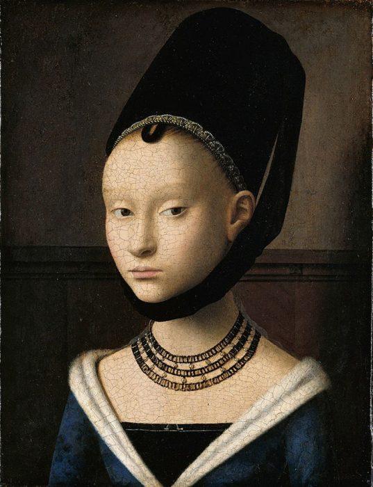 Bildnis einer jungen Dame Petrus Christus 1470