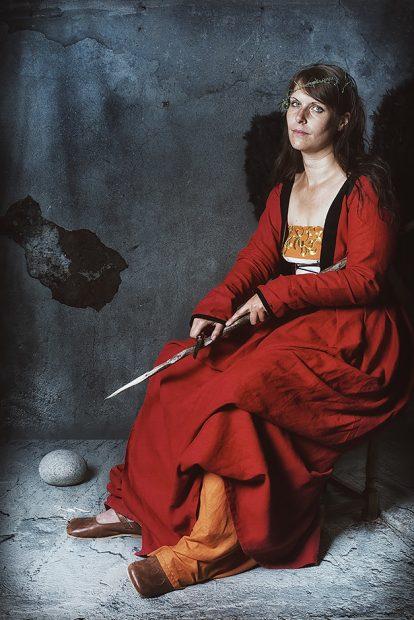 Cranach Lucas der Aeltere Die Melancholie 1532 - Nicole Friedersdorf - Darkdirndl - Historic Couture