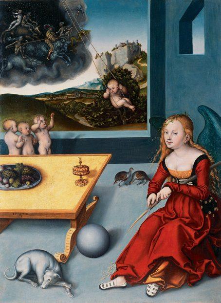 Cranach Lucas der Aeltere Die Melancholie 1532