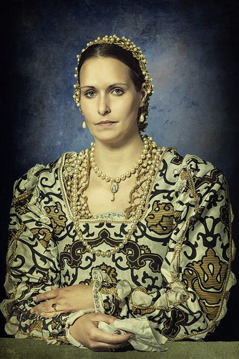 Eleonora von Toledo Agnolo Bronzino 1562 - Nicole Friedersdorf - Darkdirndl - Historic Couture