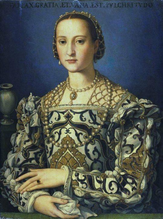 Eleonora von Toledo Agnolo Bronzino 1562