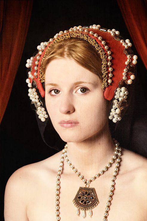 Elizabeth I als Prinzessin - Nicole Friedersdorf - Darkdirndl - Historic Couture