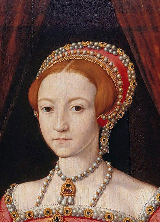 Elizabeth I als Prinzessin