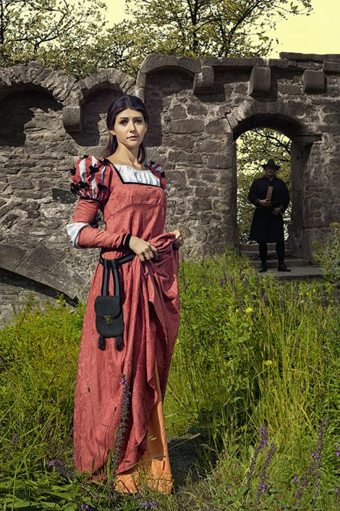 George Dunlop Leslie In the Wizards Garden - Nicole Friedersdorf - Darkdirndl - Historic Couture