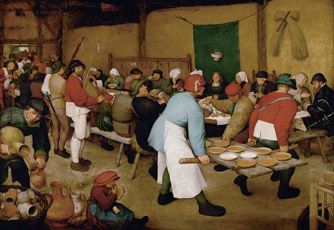 Pieter Bruegel der Aeltere Die Bauernhochzeit 1568