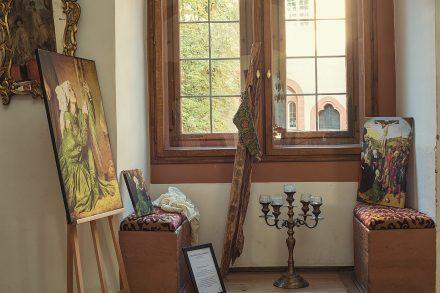Schloss Buedingen Ausstellungsraum Maria Magdalena