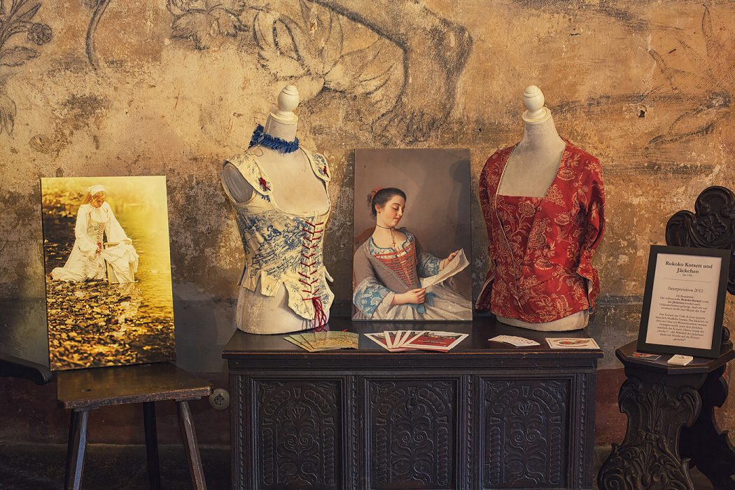 Schloss Buedingen Ausstellungsraum Rokoko