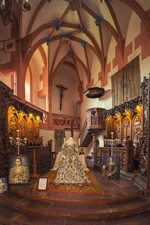 Schloss Buedingen Kapelle Eleonora
